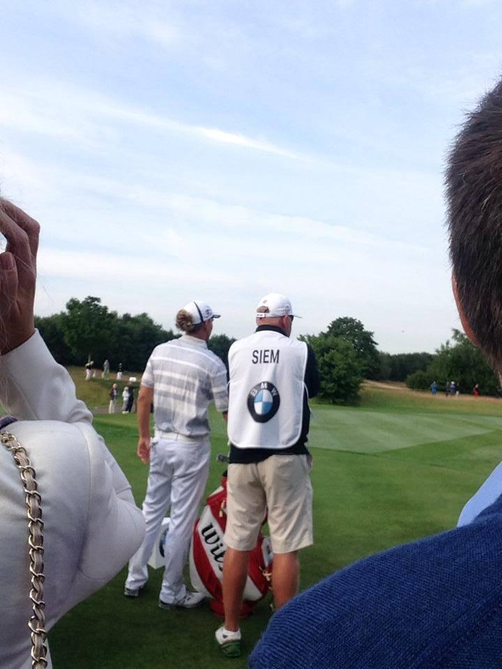 Marcel Siem spielt ziemlich souveränes Golf! Jetzt müssen nur noch mehr Putts fallen