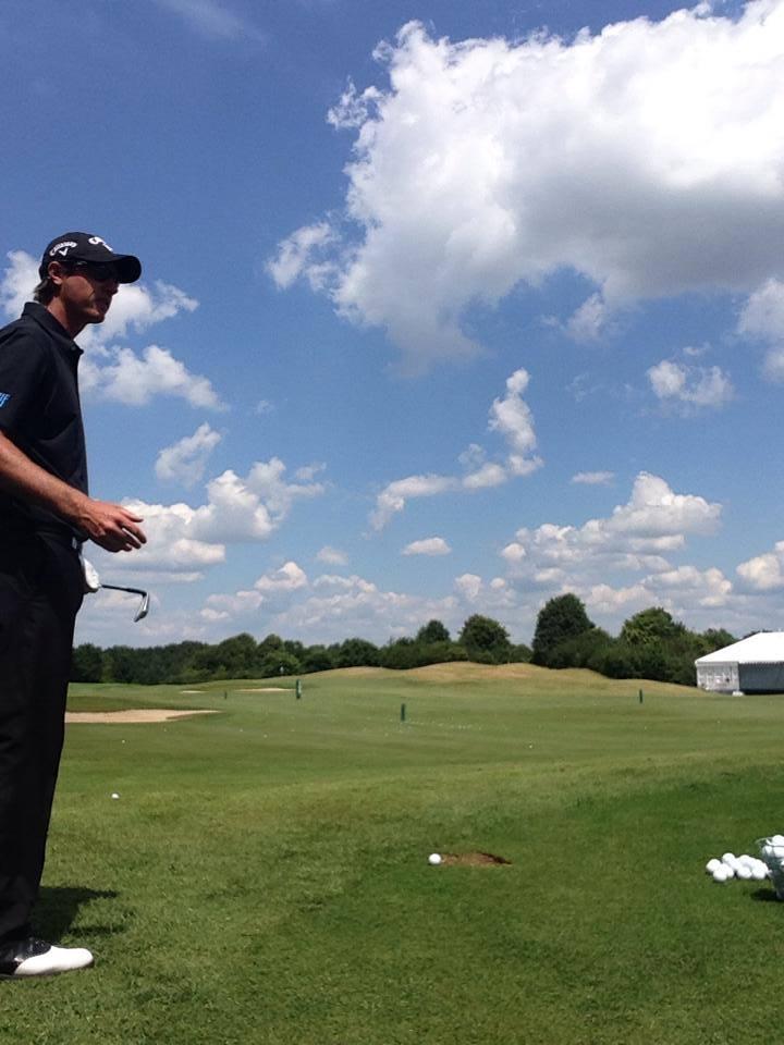 Golfclinic mit Nicolas Colsaerts! Total entspannter und sympathischer Typ!! Danke exklusiv-golfen.de und Emirates!