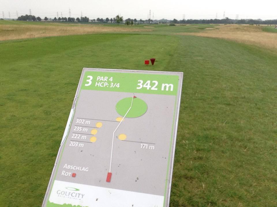 Runde Nr 2! GolfCity Köln Pulheim die letzte Runde mit Licht