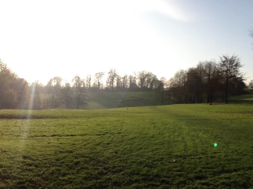 Da das Turnier leider voll war, hab ich heute meine Rheingolf Card genutzt und war zu Gast beim Golfclub Burg Overbach!  Hat echt Spass gemacht :)