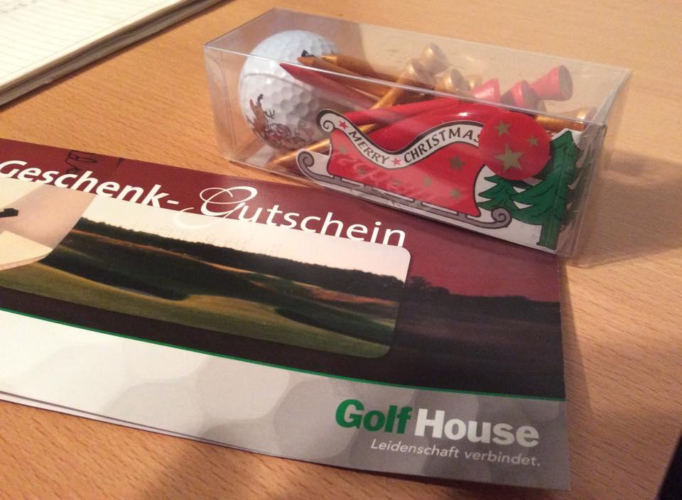 Zeigt her eure Golf-Weihnachtsgeschenke :)