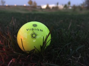Vision Golfball in Gelb
