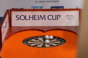 Solheim-Cup Dartscheibe