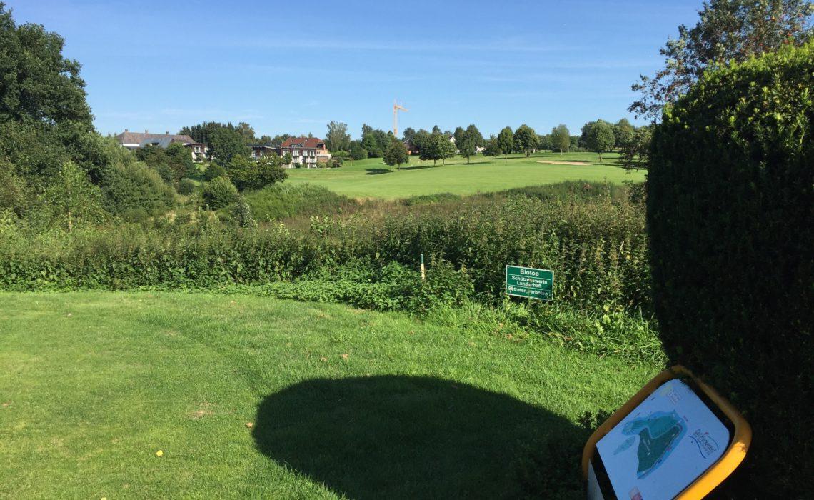 Gut Heckenhof Golf-Resort - Abschlag gelbe 9