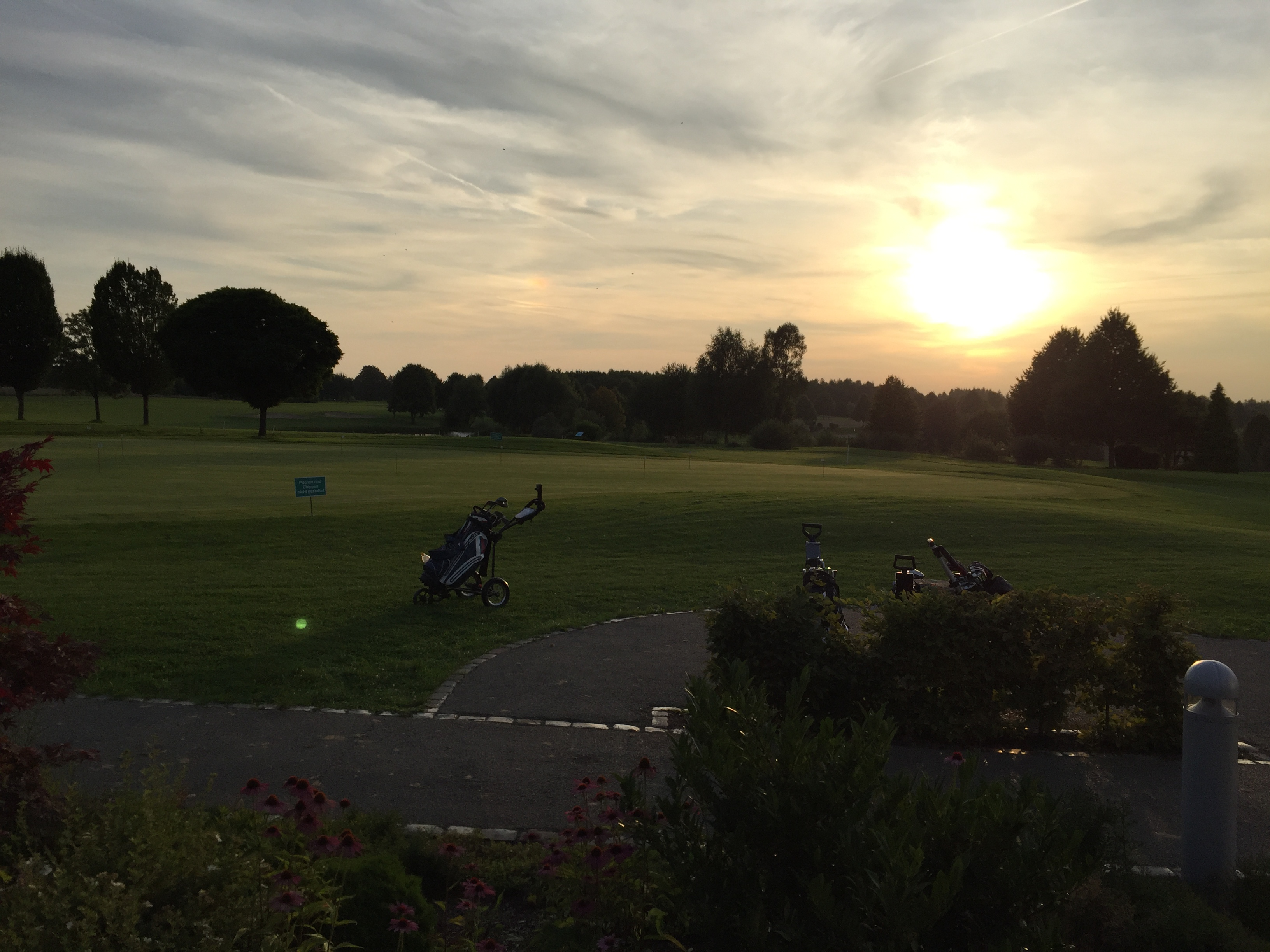 Gut Heckenhof Golf-Resort - Terasse