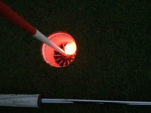 Nighteagle Golfball im Einsatz